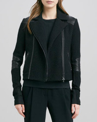 Boucle moto jacket black medium 281279