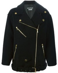 Moschino Boutique Oversized Biker Jacket