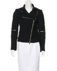 Stella McCartney Wool Biker Jacket