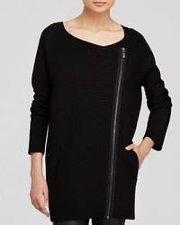 Max Mara Weekend Jacket Palmizi Asymmetric Zip Rib Knit