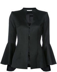 Alice + Olivia Aliceolivia Flared Sleeve High Neck Blazer
