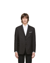 Neil Barrett Black Slim Regular Fit Blazer
