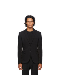 Fendi Black Wool Blazer