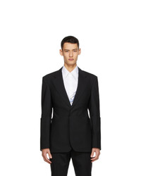 Sean Suen Black Wool Blazer