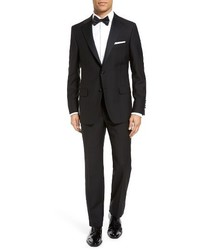 Hickey Freeman Classic Fit Wool Tuxedo