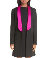 Calvin Klein 205W39nyc Contrast Lapel Wool Gabardine Jacket