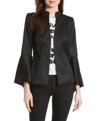Alice + Olivia Ivana Waterfall Sleeve Blazer