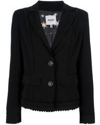 Moschino Vintage Zig Zag Hem Jacket