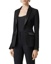 Burberry Otelia Wool Tuxedo Jacket