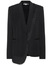 Stella McCartney Fringed Wool Blazer