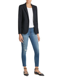 Zadig & Voltaire Tailored Blazer With Wool