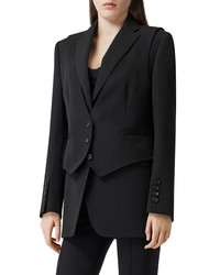 Burberry Titouan Double Layer Wool Blazer
