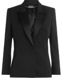 Alexander McQueen Virgin Wool Tuxedo Blazer