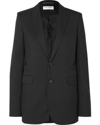 Saint Laurent Wool Gabardine Blazer