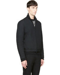DSquared 2 Black Wool Bomber Jacket | Where to buy & how to wear
