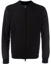 Armani Jeans Thick Ribbed Bomber Jacket