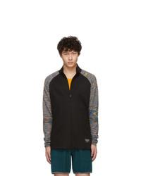 ADIDAS X MISSONI Black Phx Zip Up Jacket