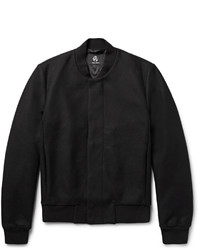 Paul Smith Ps By Wool Blend Bomber Jacket