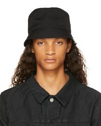 VISVIM Black Dome Bucket Hat