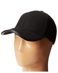 San Diego Hat Company Cth3700 Wool Cap With Faux Leather Trim