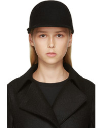 Etudes Studio Black Felted Wool Day Hat