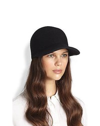 Stella McCartney Wool Baseball Cap
