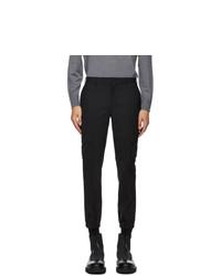 Neil Barrett Black Wool Cargo Pants
