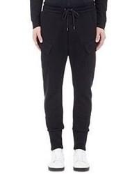 Helmut Lang Cargo Jogger Pants Black
