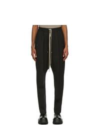 Rick Owens Black Bela Trousers