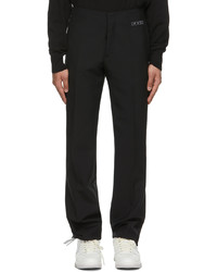 Off-White Black Clean Trousers