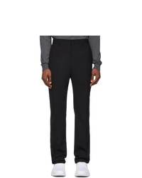 Fendi Black Ff Tape Trousers
