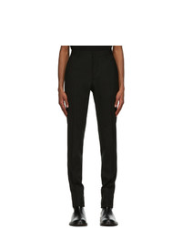 Versace Black Formal Trousers