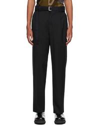 Sacai Black Suiting Pants