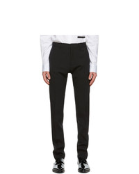 DSQUARED2 Black Wool Cool Guy Fit Trousers