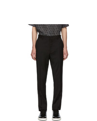 Fendi Black Wool Forever Trousers