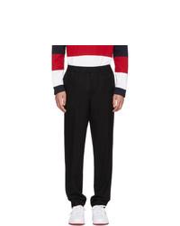 Moncler Black Wool Trousers