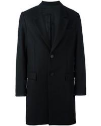 AMI Alexandre Mattiussi Notched Lapel Mid Coat
