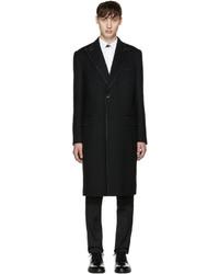Dolce & Gabbana Dolce And Gabbana Black Topstitched Coat