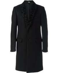 Fendi Lamb Fur Lapel Coat