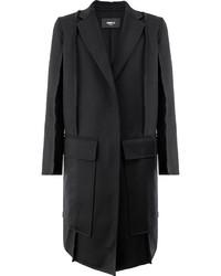 Yang Li Raw Edge Coat