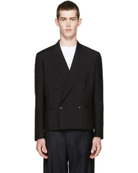 Paul Smith Black Double Breasted Blazer