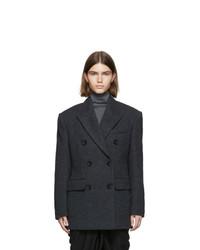Isabel Marant Black Hermine Oversized Jacket