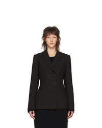 Stella McCartney Black Wool Double Breasted Blazer