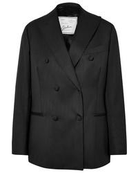 Giuliva Heritage Collection Cornelia Double Breasted Wool Blazer
