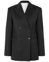 Calvin Klein 205W39nyc Double Breasted Wool Blend Blazer
