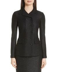 St. John Collection Shimmer Sequin Knit Jacket