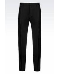 Armani Collezioni Classic Wool Blend Trousers