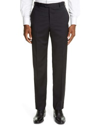 Emporio Armani Black Wool Dress Pants