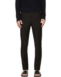 Acne Studios Black Wool Drifter Trousers
