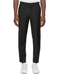 Acne Studios Black Wool Phono Trousers